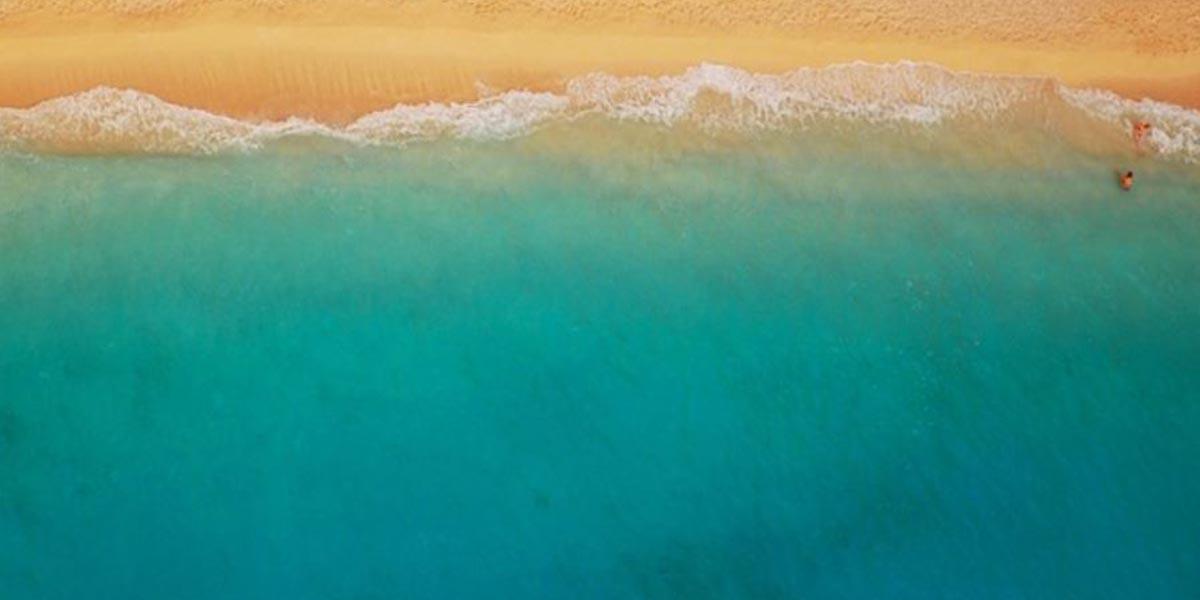 Praia água areia produtividade