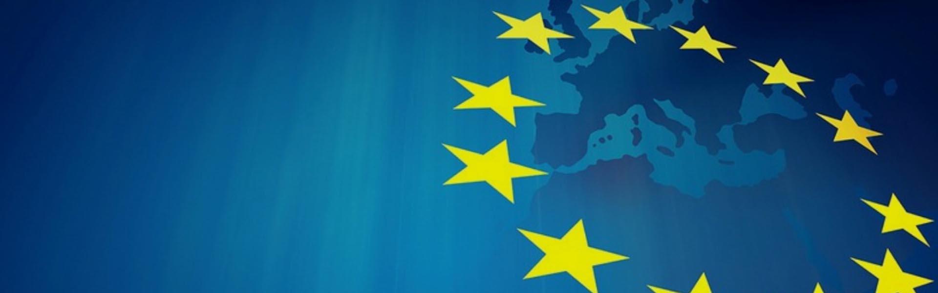 Bandeira da União Europeia dados pessoais