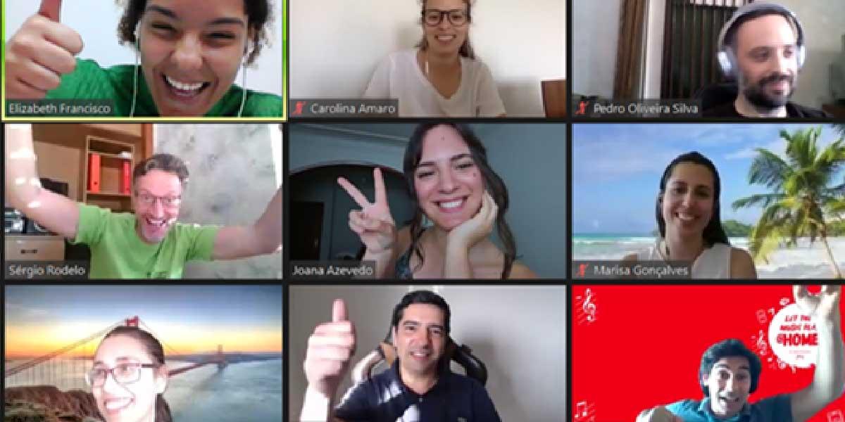Teambuildings em modo remoto: é possível motivar equipas no digital?