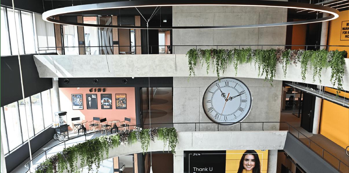 As novas instalações da PHC e o futuro dos escritórios